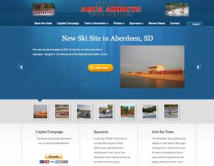 Water ski Team website development