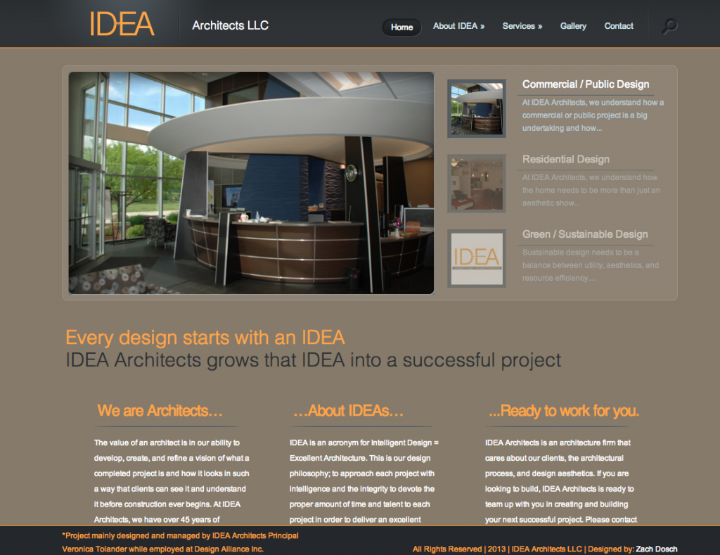 IDEA Architects LLC Testimonial