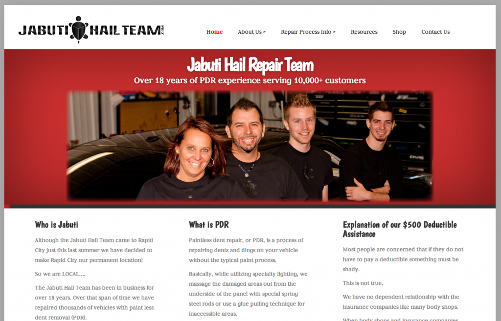 Jabuti Hail Repair Team
