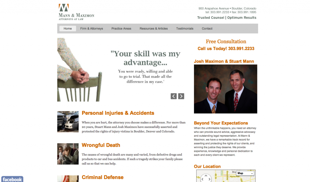 Mann & Maximon Law Firm Testimonial