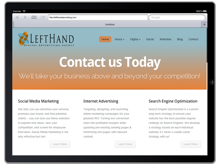 Mobile Website Design in Rapid City, SD