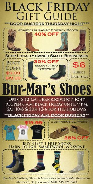 Black Friday - Retail Graphic Design Newspaper Advertisement