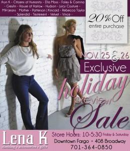 Lena K - Holiday Advertisement - Rapid City, SD Agency
